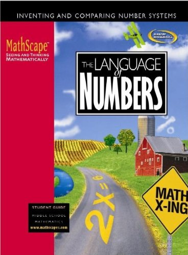 9780078667947: MathScape: Seeing and Thinking Mathematically, Course 1, The Language of Numbers, Student Guide (CREATIVE PUB: MATHSCAPE)