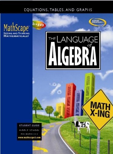 9780078668142: MathScape: Seeing and Thinking Mathematically, Course 2, The Language of Algebra, Student Guide