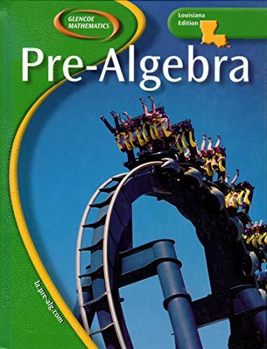 9780078668524: Pre Algebra (LA)
