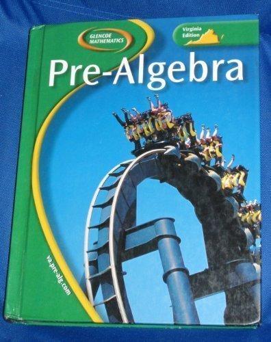 9780078668548: Pre-Algebra: Virginia Edition