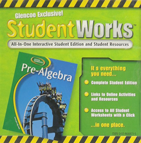 pre algebra student edition mcgraw hill