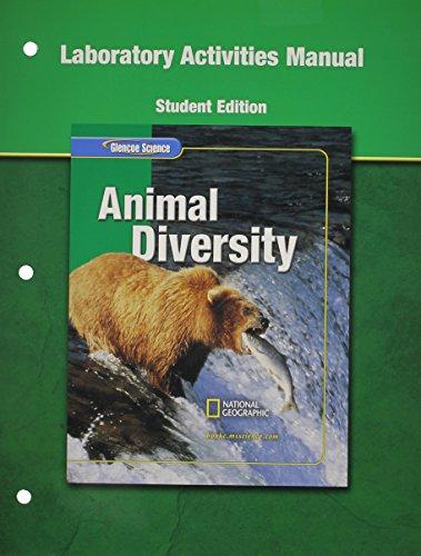 9780078669262: Animal Diversity-Lab.Activities Manual