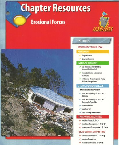 9780078669453: Chapter Resources Erosional Forces