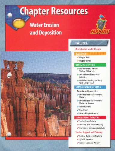 9780078669460: Chapter Resources Water Erosion and Deposition