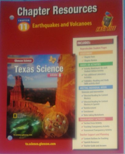 9780078669484: Chapter Resources Earthquakes