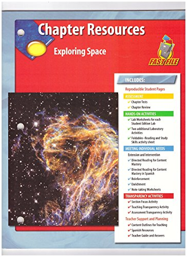 9780078669590: Chapter Resources Exploring Space FAST FILE