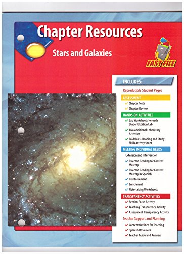 9780078669620: Chapter Resources Star and Galaxies