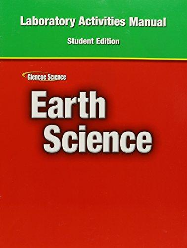 Earth Science-Lab.Activities Manual: Glencoe
