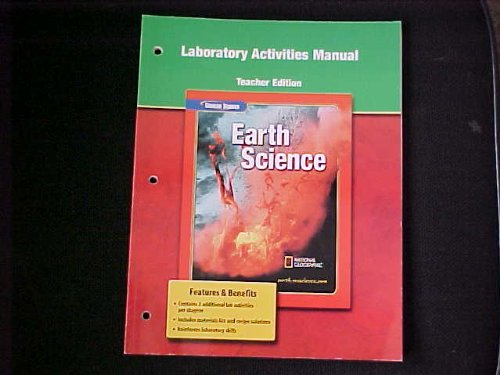 "Laboratory Activities Manual (Teacher Edition) for Glencoe ""Earth Science"" (9780078669675) by Glencoe"