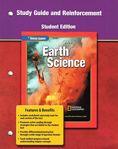 9780078669729 Glencoe Earth Science Grade 6 Reinforcement