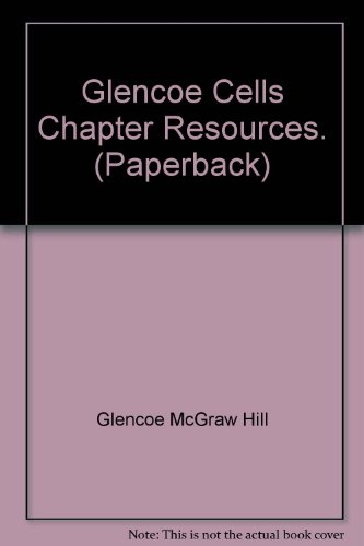 9780078670923: Glencoe Cells Chapter Resources. (Paperback)
