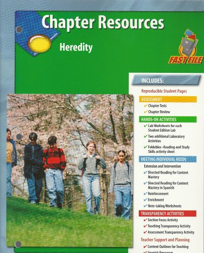 9780078670954: Chapter Resources, Heredity