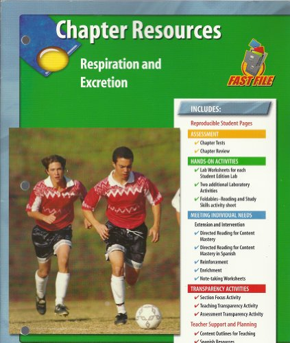 Chapter Resources, Respiration and Excretion: Glencoe
