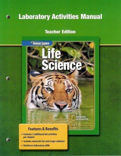 9780078671227: Laboratory Activities Manual Teacher's Edition Life Science (Glenoce Life Science)