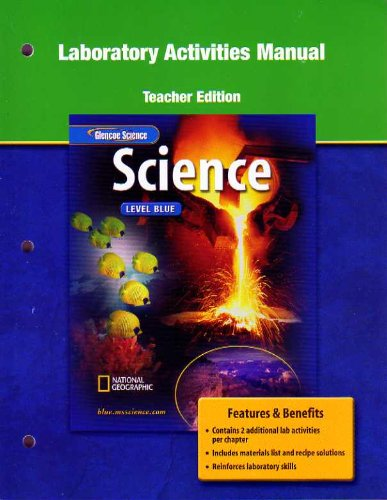 9780078671647: Glencoe Science Level Blue: Laboratory Activities Manual Teacher Edition
