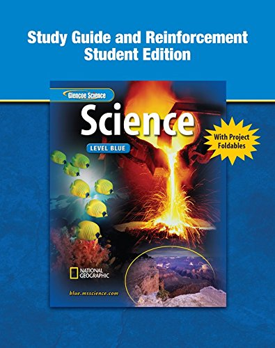9780078671692: Glencoe iScience: Level Blue, Grade 8, Reinforcement and Study Guide, Student Edition