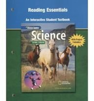 9780078671869: Science Level Green, Reading Essentials, An Interactive Student Textbook (INTEGRATED SCIENCE)