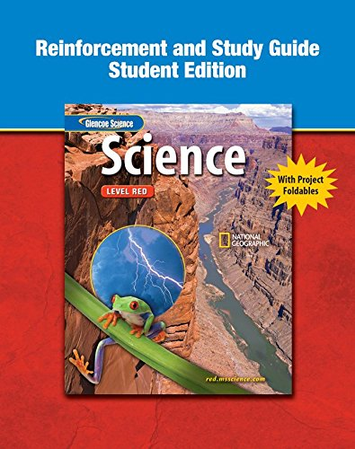 9780078672163: Glencoe iScience, Level Red, Grade 6, Reinforcement and Study Guide, Student Edition (INTEGRATED SCIENCE)