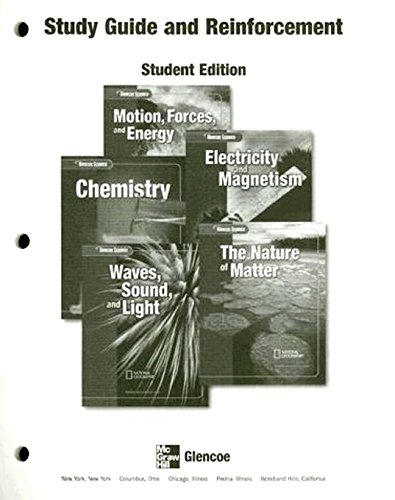 9780078673092: Glencoe Science Modules, Physical Science Modules: Study Guide and Reinforcement