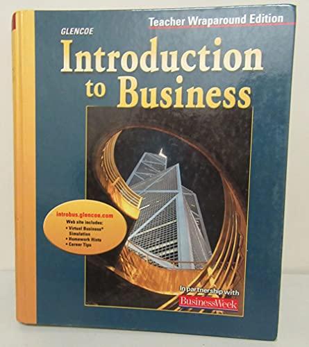 9780078673320: Introduction to Business, Teacher Wraparound Edition