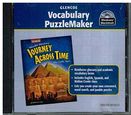 9780078674228: Vocabulary Puzzlemaker CD-ROM for Glencoe