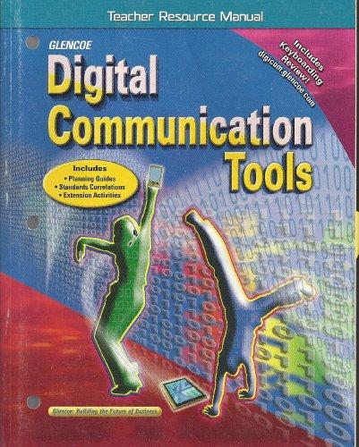 9780078676369: Glencoe: Digital Communication Tools - Teacher Resource Manual