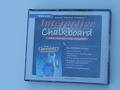 9780078677199: Interactive Chalkboard CD-ROM for Glencoe