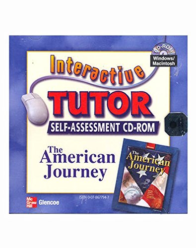 9780078677946: The American Journey, Interactive Tutor Self Assessment CD-ROM