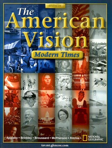 9780078678493: The American Vision: Modern Times