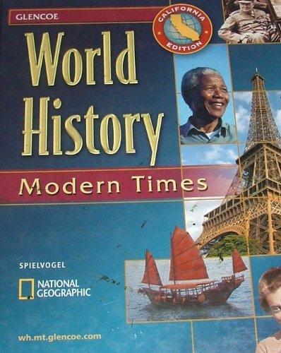 World History - California Edition: Modern Times: Spielvogel, Jackson S.