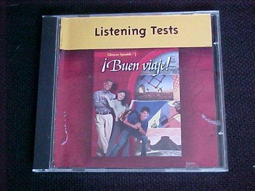 9780078679148: Listening Tests (Glencoe Spanish 1: Buen Viaje!)