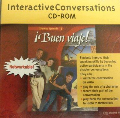 9780078679162: Interactive Conversations CD-ROM (Glencoe Spanish 1: Buen Viaje!)