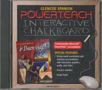 9780078679179: Powerteach Interactive Chalkboard CD-ROM for Buen viaje! (1)