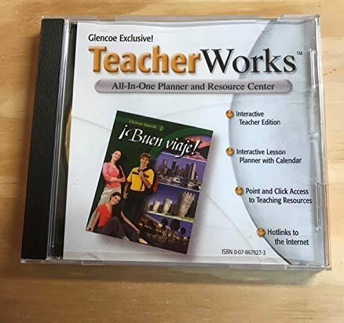 9780078679278: TeacherWorks CD-ROM for Buen viaje! (Glencoe Spanish 2)