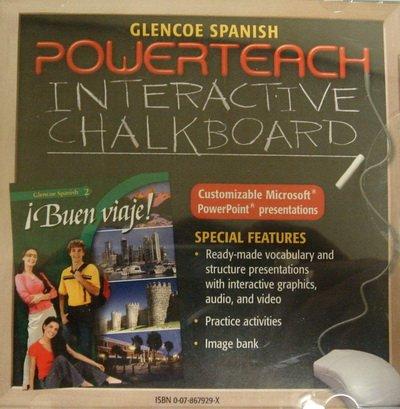 9780078679292: Powerteach Interactive Chalkboard CD-ROM for Buen viaje! (2)