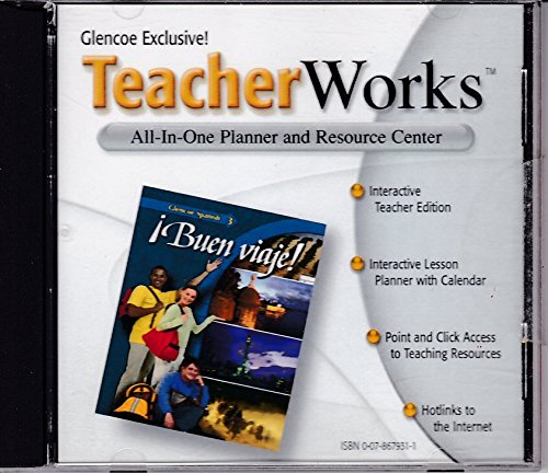 9780078679315: Glencoe Teacher Works All in One Planner and Resource Center and Interactive Teachers Edition (Buen viaje Spanish 3)