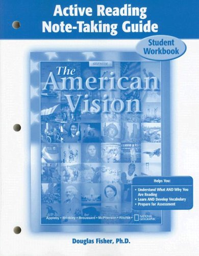 9780078680021: American Vision, Active Reading Note-Taking for Student Edition (UNITED STATES HISTORY (HS))
