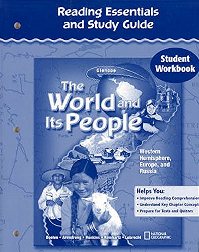 9780078680304: The World and Its People: Western Hemisphere, Europe, and Russia, Reading Essentials and Study Guide, Student Workbook (THE WORLD & ITS PEOPLE WESTERN)