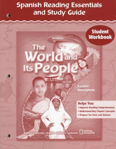 9780078680762: The World and Its People, Eastern Hemisphere, Spanish Reading and Study Guide, Workbook (Spanish Edition)