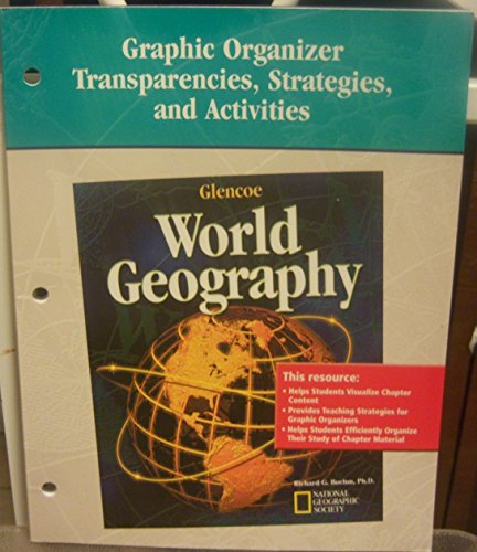 9780078680939: World Geography: Graphic Organizer Transparencies, Strategies, and Activities