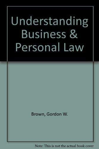 9780078681127: Understanding Business & Personal Law: Student Activity Workbook