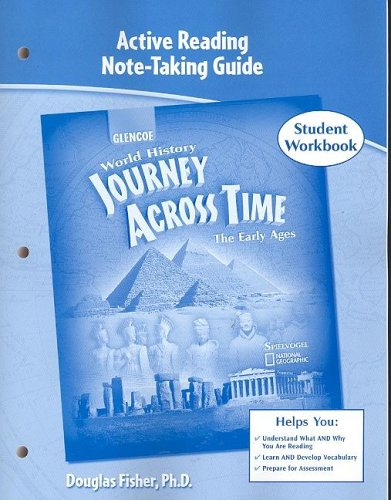 9780078681325: Journey Across Time, Early Ages, Active Reading Note-Taking Strategies, Student Edition