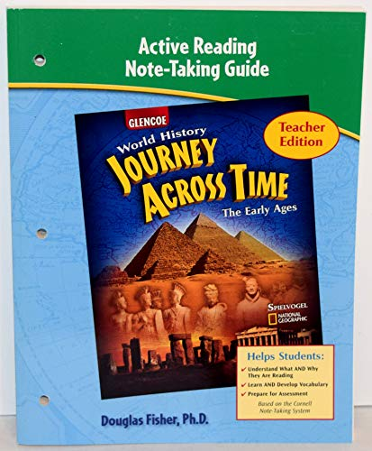 9780078681332: Active Reading Note-Taking Guide (World History Journey Across time, The Early Ages)