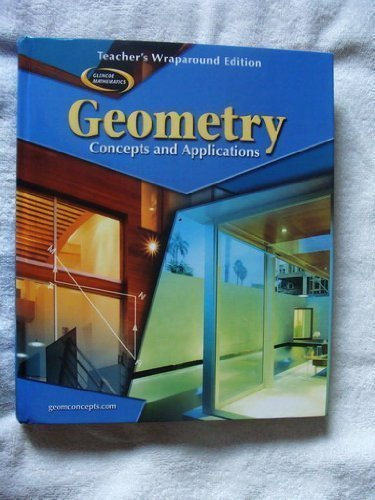 9780078681738: Geometry Concepts and Applications: Teachers Wraparound Edition