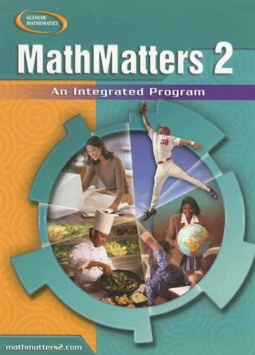 MathMatters 2: An Integrated Program: Lynch, Chicha; Olmstead,