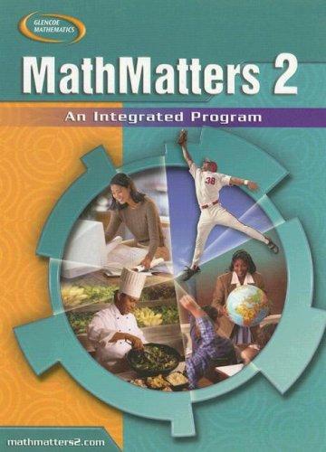 9780078681769: Glencoe Mathmatters: Cs 2