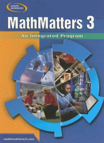 Mathmatters: Cs 3, An Integrated Program: Lynch, Chicha, Olmstead,