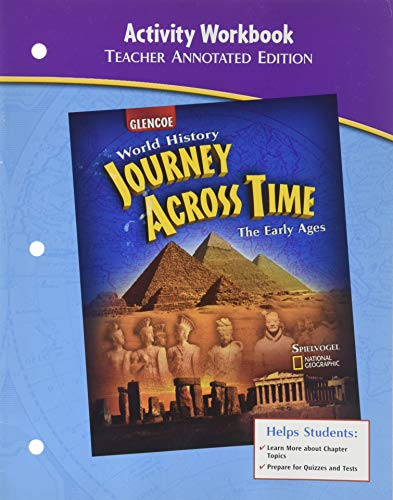 """9780078681981: Activity Workbook (Teacher Annotated Edition) for Glencoe """"World History: Journey Across Time, The Early Ages"""""""