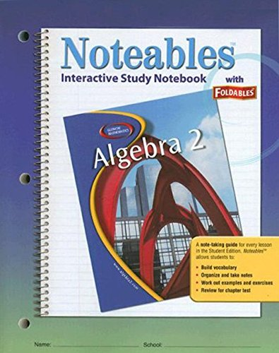 9780078682094: Algebra 2: Interactive Study Notebook with Foldables (Noteables)
