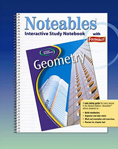 Glencoe Geometry, Noteables: Interactive Study Notebook with: McGraw-Hill Education